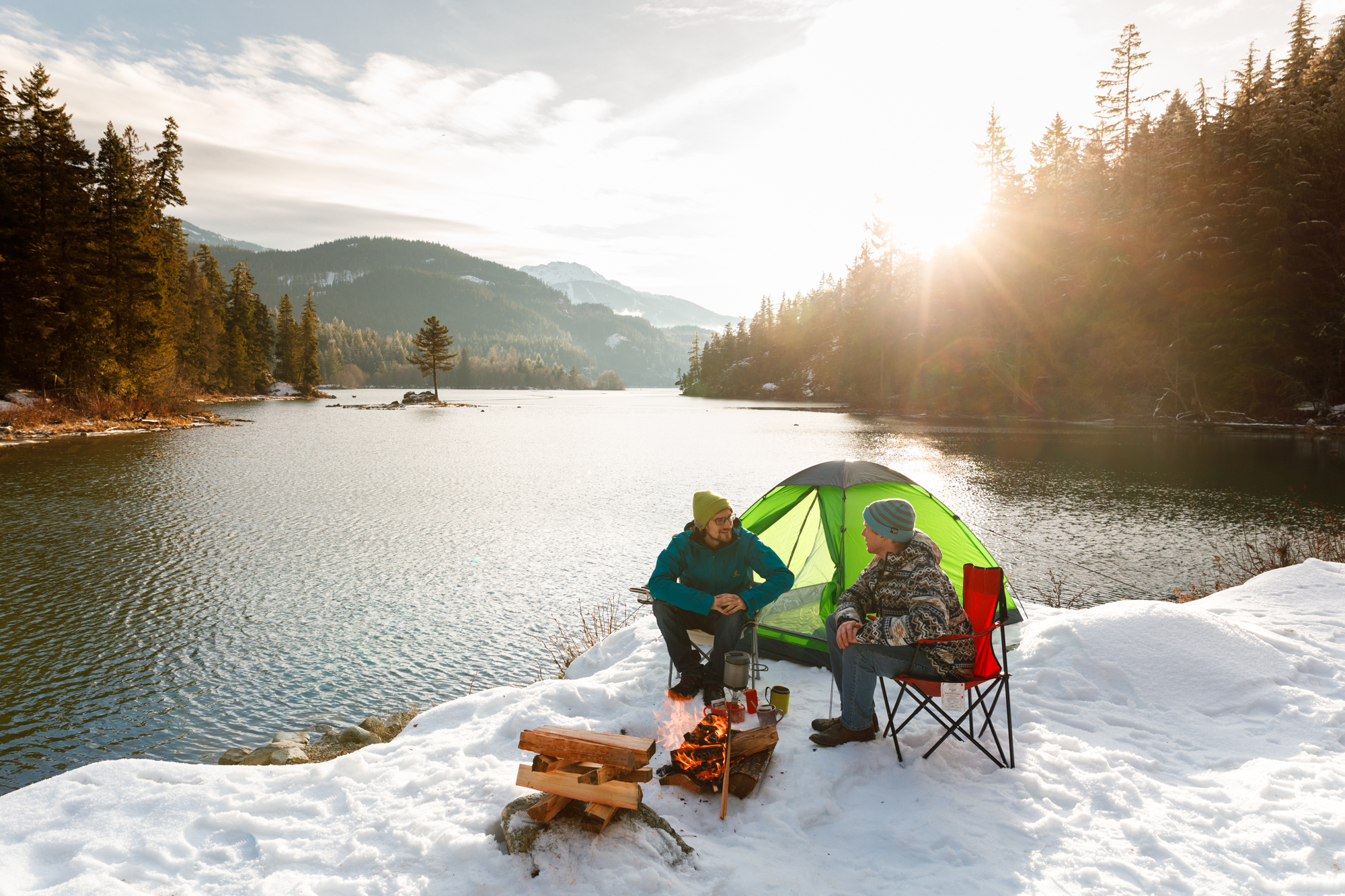 Craig Barker Photography - TD Bank - Winter Camping - Whistler