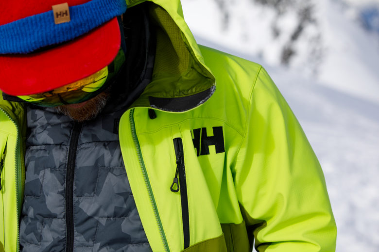 Commercial Photography Coast Mountain Guides Helly Hansen