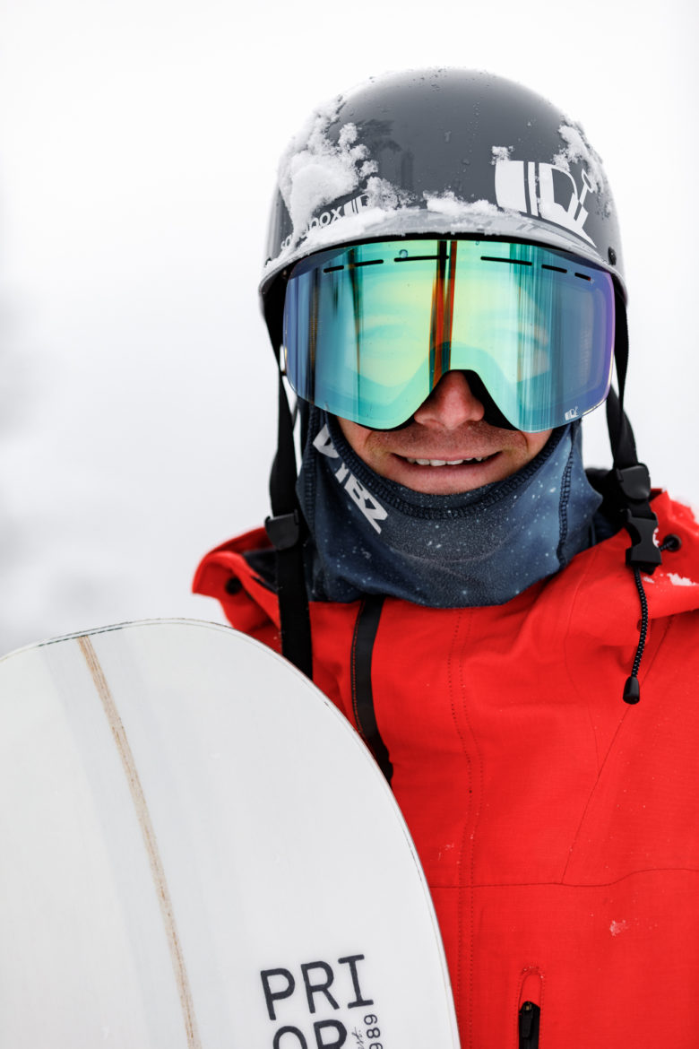 Commercial Photography Prior Skis & Snowboard Product and Action