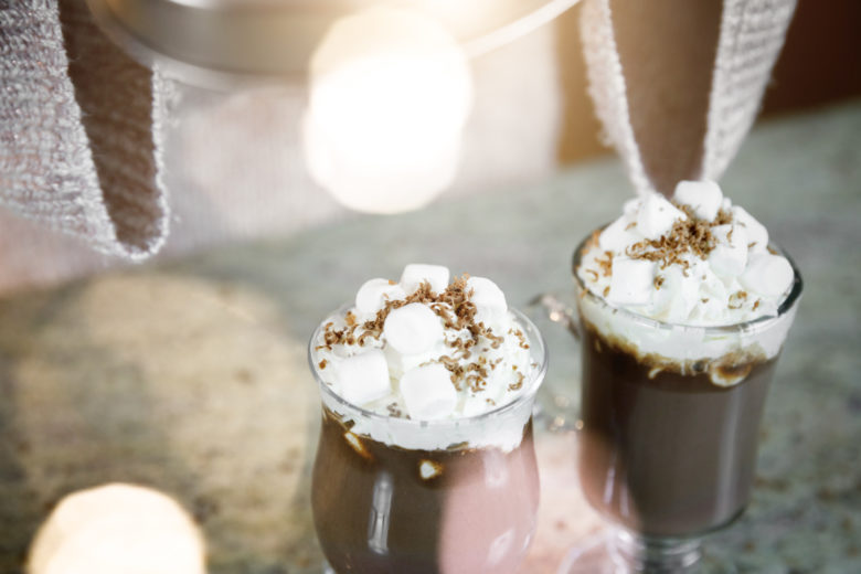 Cannabis Infused Hot Chocolate Lifestyle Photography