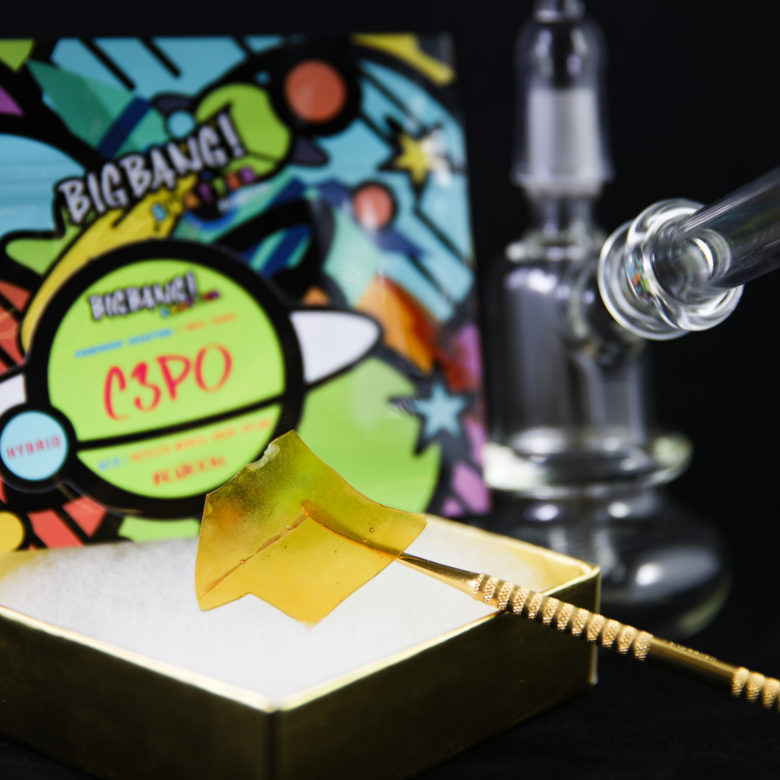 Creative Cannabis Product Photography Craig Barker Shatter