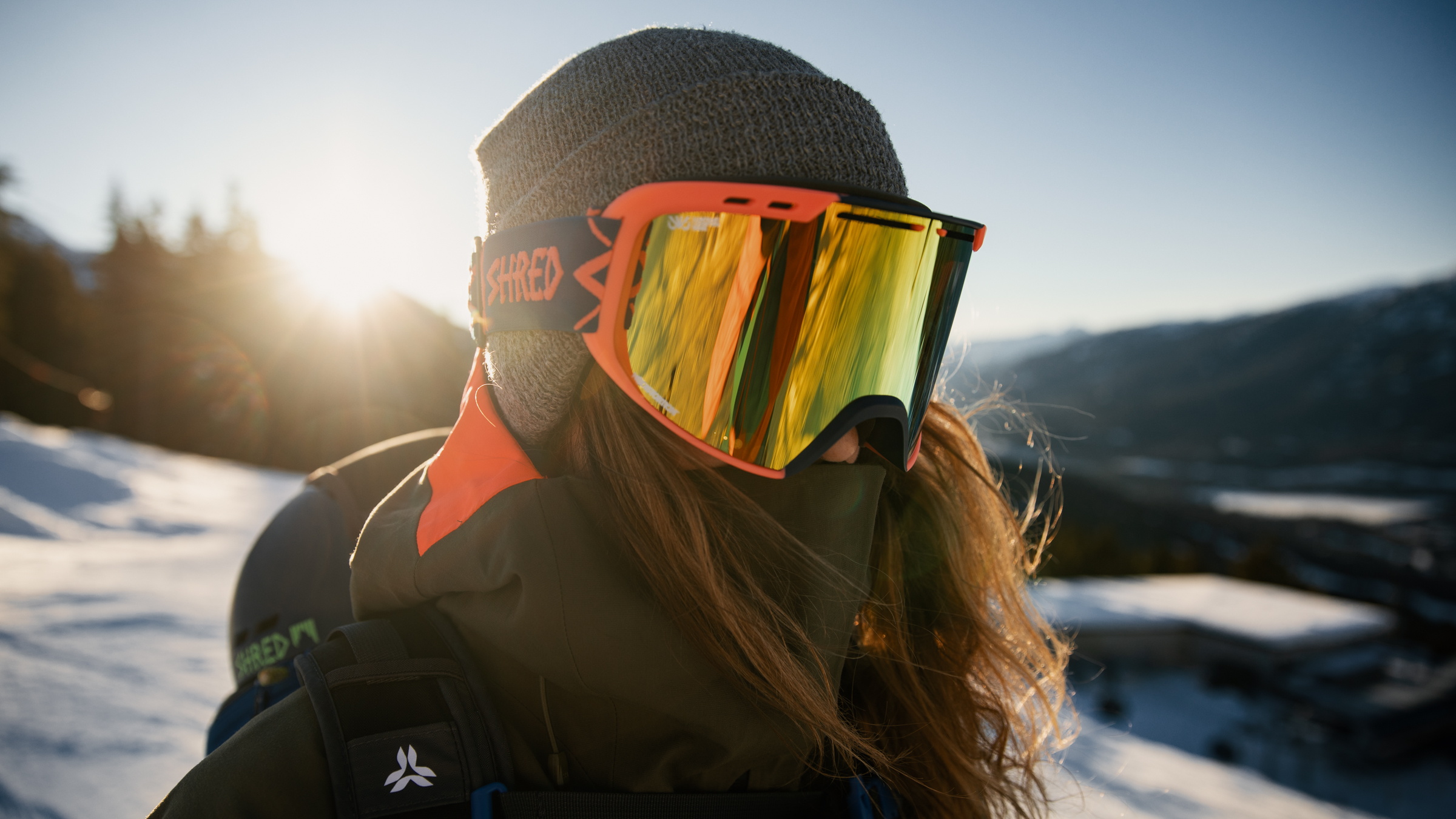Marie-pier Préfontaine wearing Shred Goggles